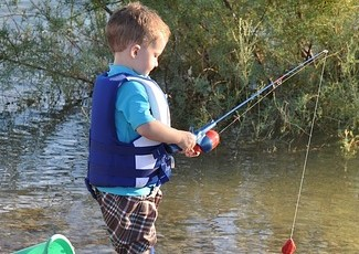 Image by 272447 from Pixabay of boy fishing
