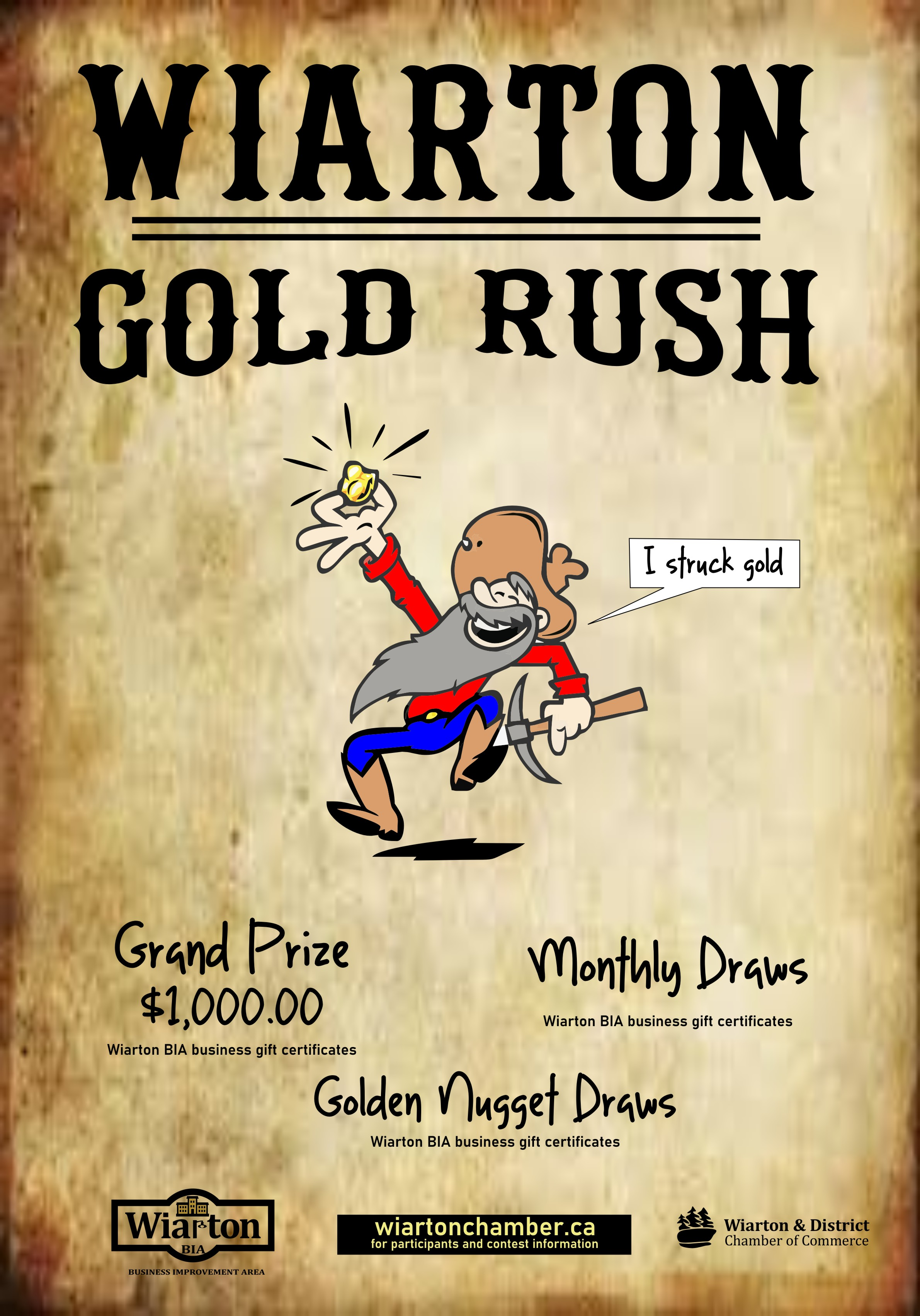 Gold Rush Campaign Poster